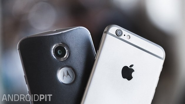 iPhone 6 vs MotoX 9