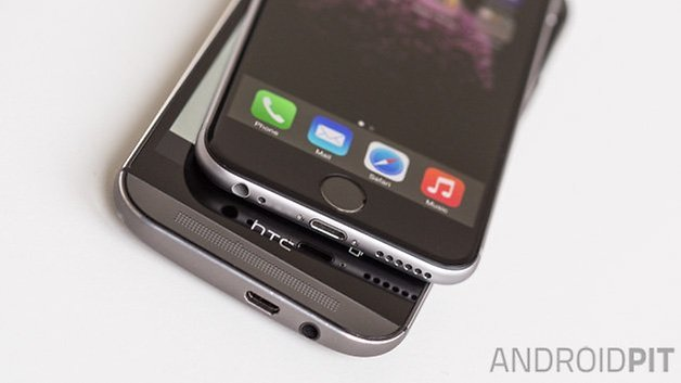 HTC One M8 vs iPhone6 6