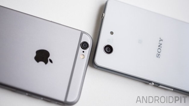 Xperia Z3 Compact vs iPhone 6