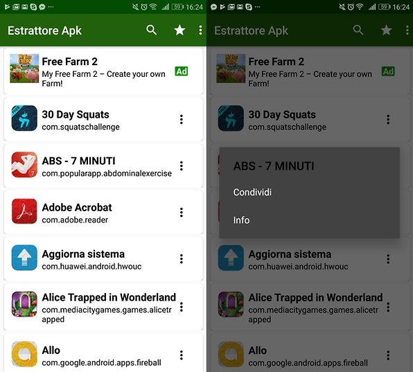 Copiate o condividete le vostre app Android in modo facile e