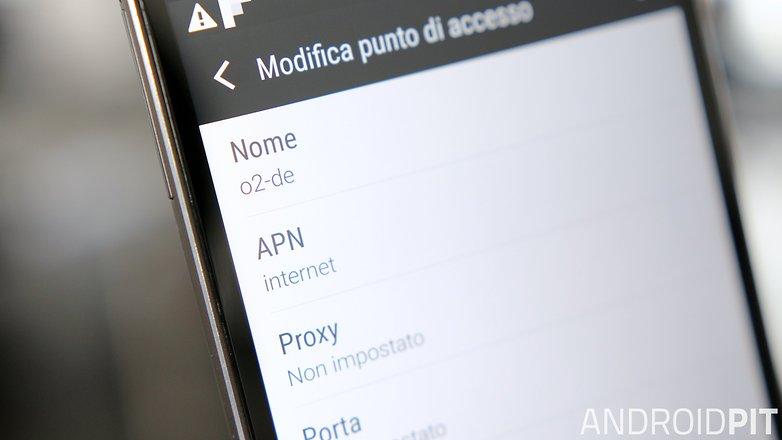 AndroidPIT APN settings ITA hero