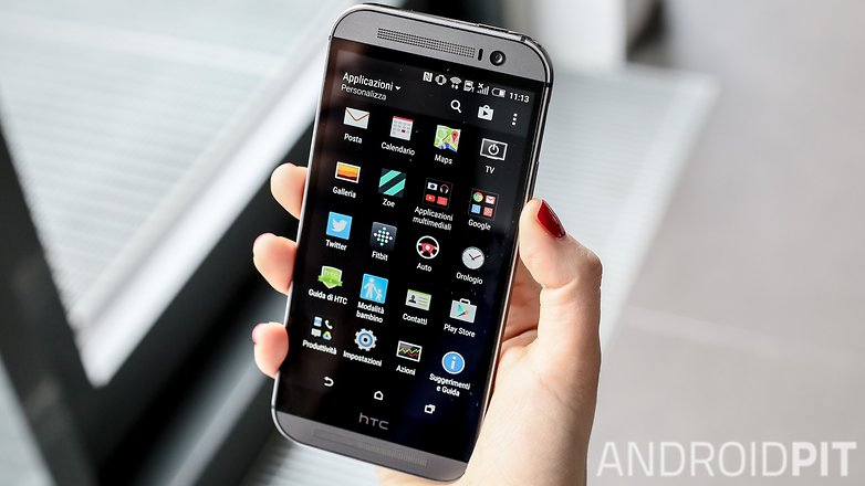 AndroidPIT HTCOneM9 apps