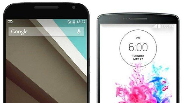 AndroidPIT Nexus6 LGG3 crop