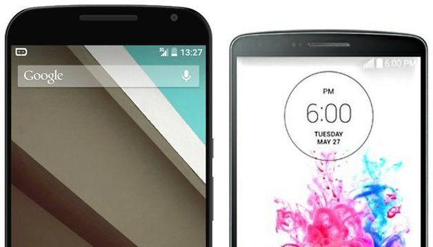 Google Nexus 6 vs LG G3: due grandi a confronto