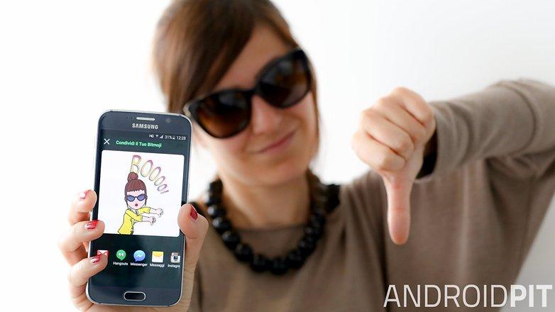 AndroidPIT smartphone Bitmoji