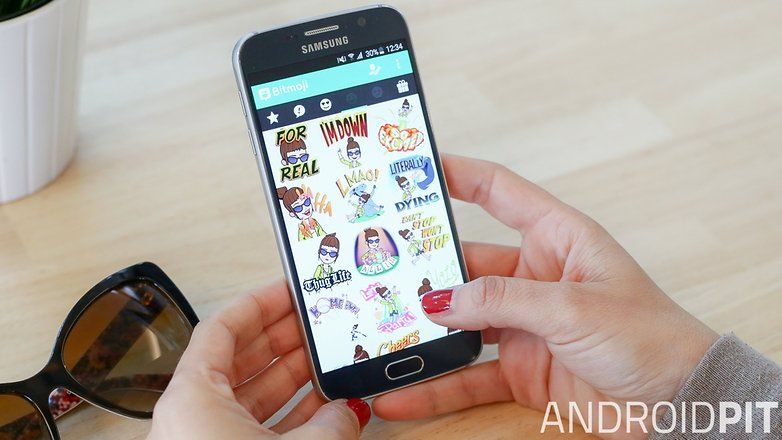 AndroidPIT smartphone emoji