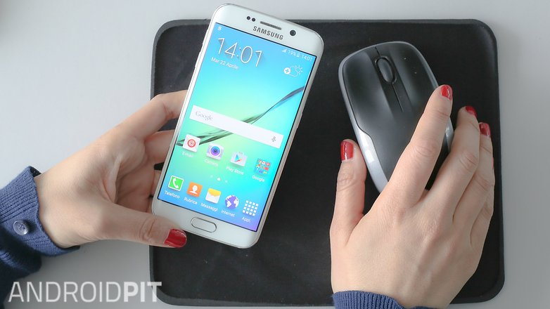 Androidpit mouse smartphone