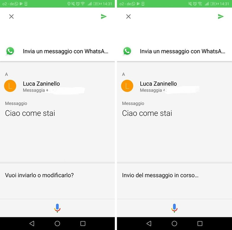 Assistant whatsapp