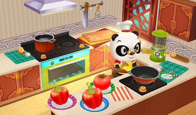 Dr Panda Restaurant game