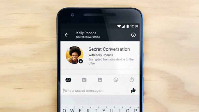 FB messenger secret chat