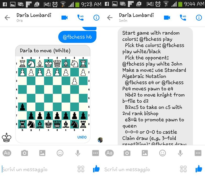 FBMessenger chess