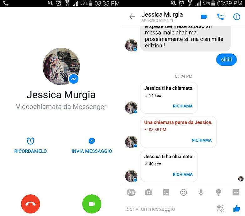 Facebook messenger ITA