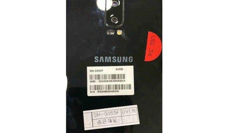 Galaxy S8 dual camera