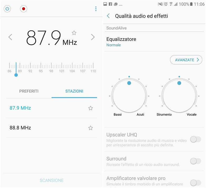 GalaxyA5 audio