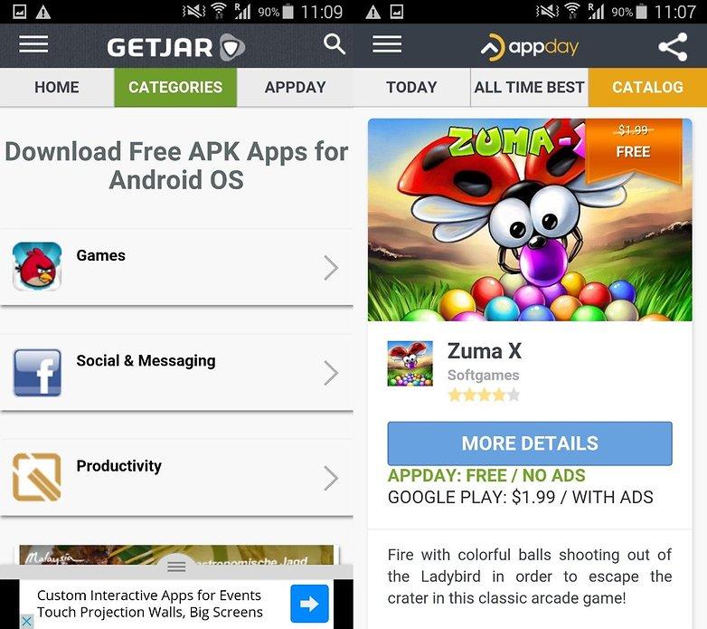 GetJar screenshot