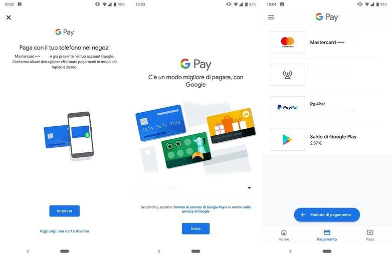 GooglePay italy