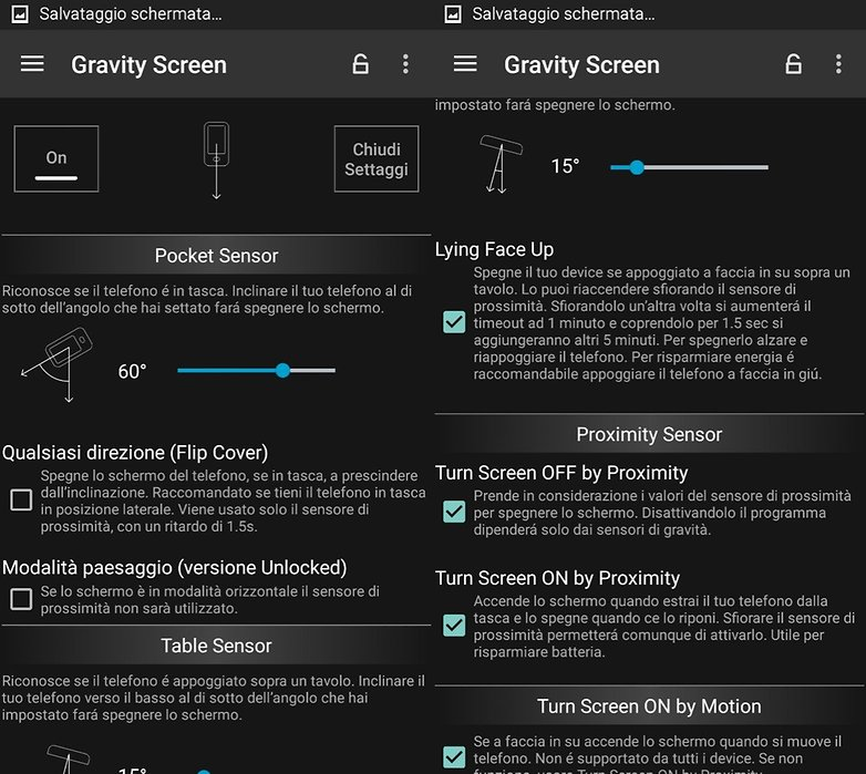 Gravity Screen ITA