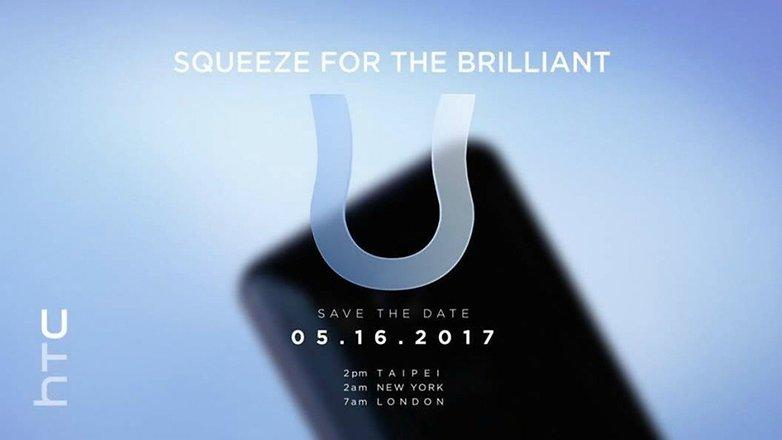 HTC u invitation
