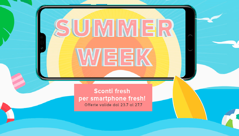 Honor Summer Week: Honor 10, View 10 ed altri in offerta (ma solo per qualche giorno)