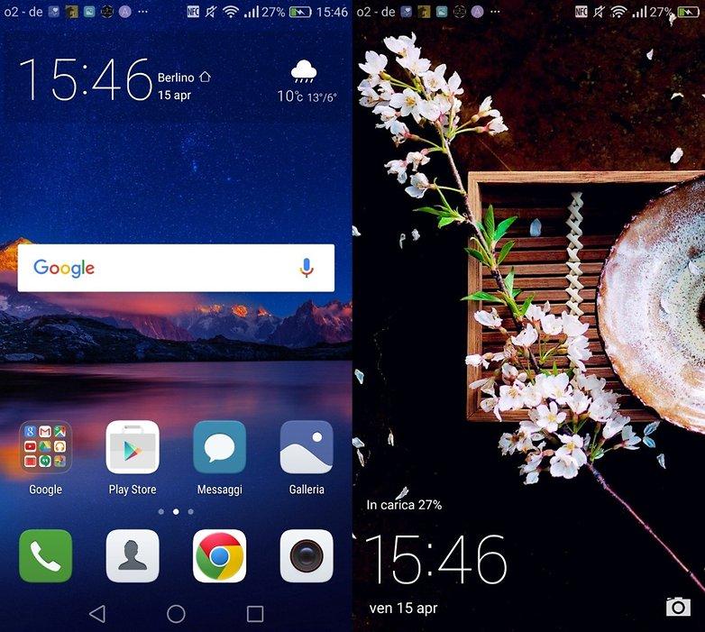 Huawei P9 software 2