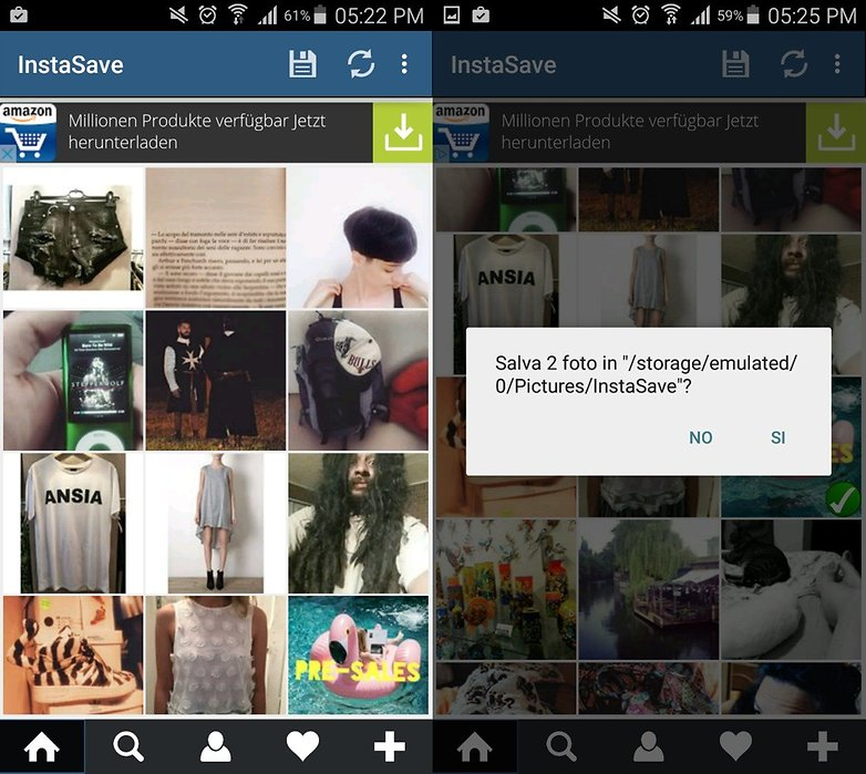 InstaSave screenshot ITA