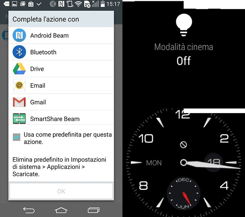 LG Watch R screenshot 2 IT