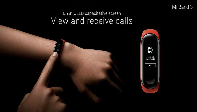 Xiaomi  Mi Band 3: an affordable smartband with OLED display