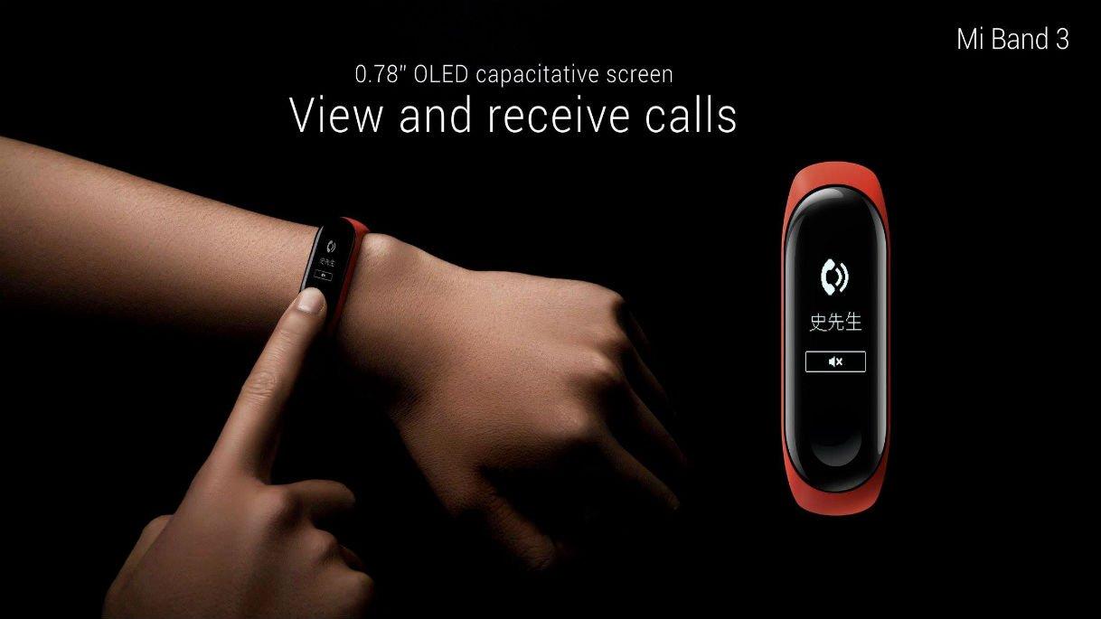 Xiaomi mi band 3 ufficiale economico e con display oled for Facebook logo ufficiale