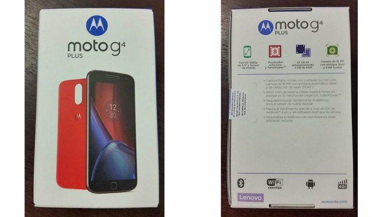 MotoG4Plus box