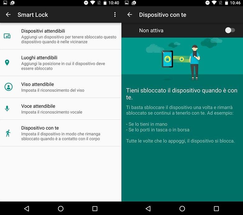 Nexus 6P smartlock