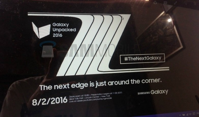 Note 7 unpacked
