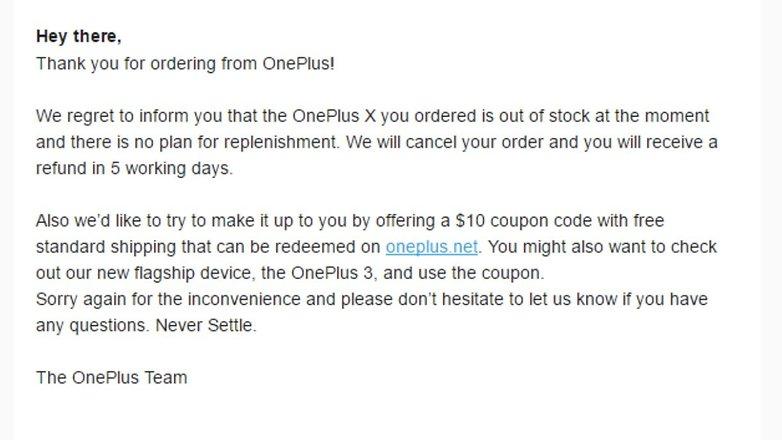 OnePlus X dead