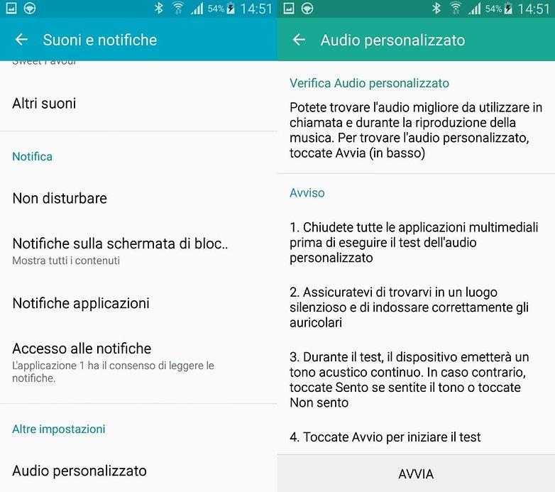 S4 audio