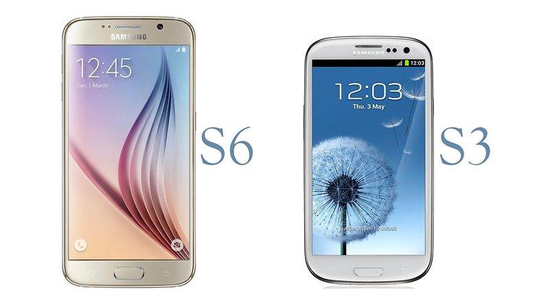 Samsung Galaxy S6 vs Galaxy S3