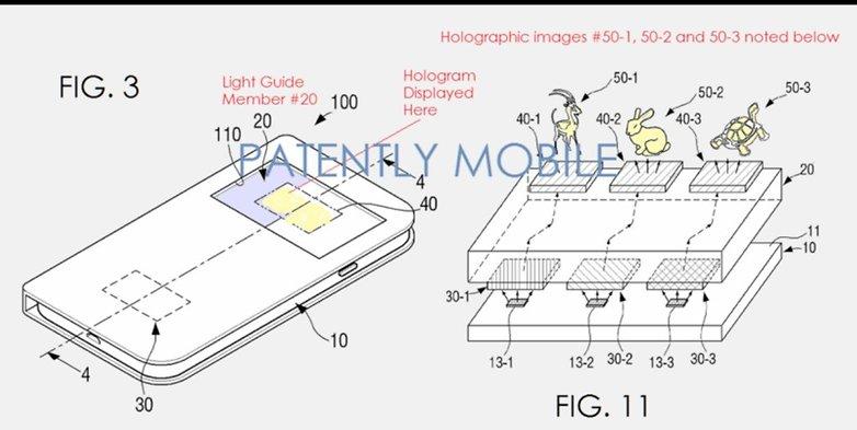 Samsung Holographic