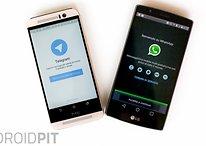 WhatsApp invidiosa tratta Telegram come fosse spam!