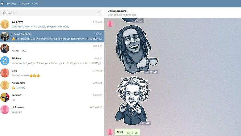 Telegram chatpc