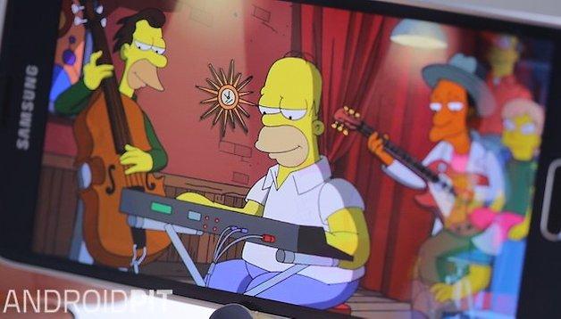 Quali app Android utilizza la famiglia Simpson?
