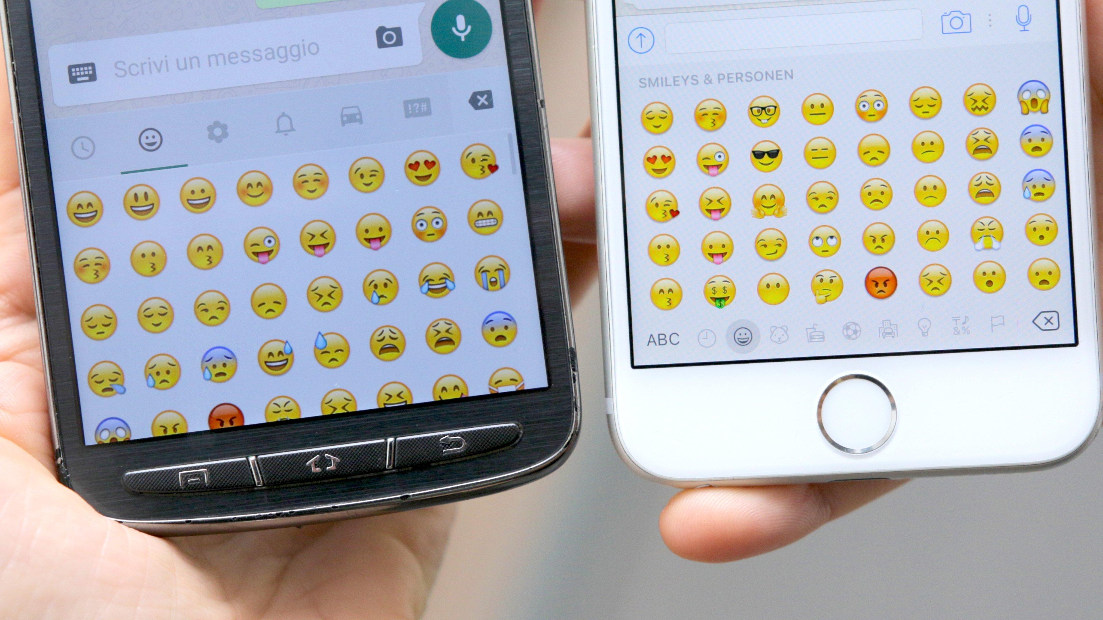 Hersteller-Emojis: Warum tut man uns das an?