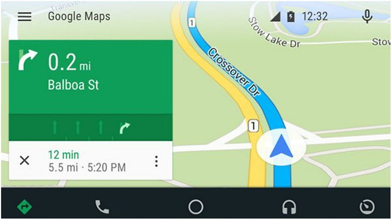 android autp maps big