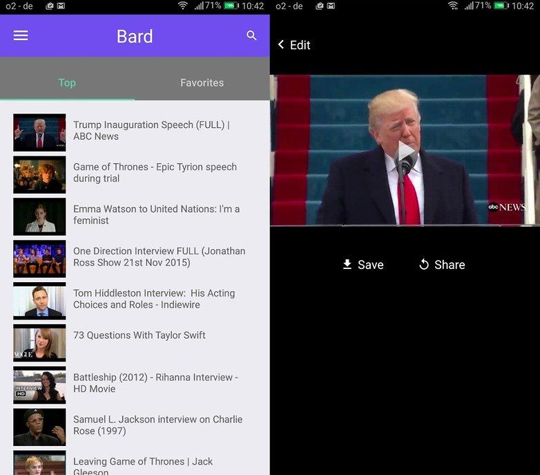 bard videos