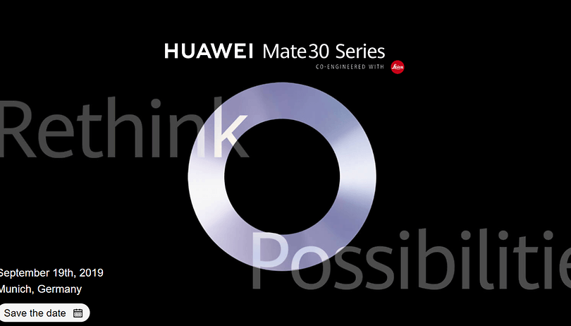 How to watch the launch of Huawei Mate 30 (Pro) live