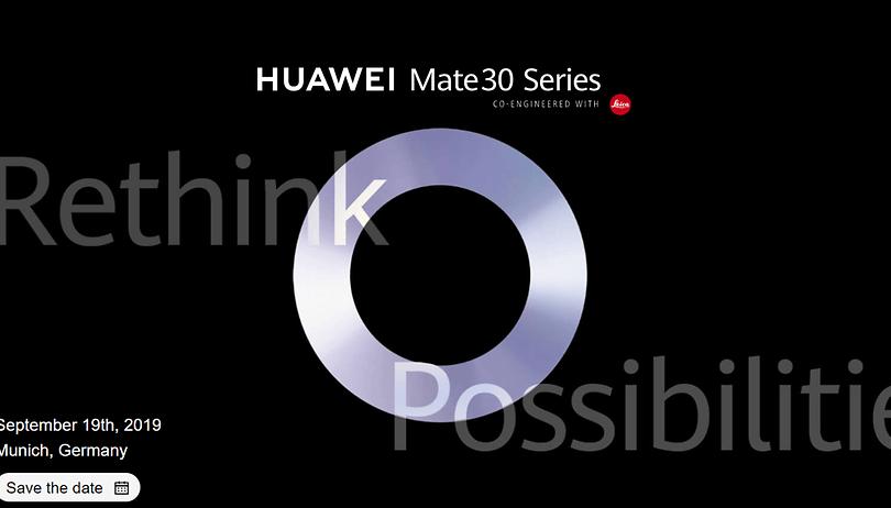 Come seguire la presentazione di Huawei Mate 30 (Pro) in diretta