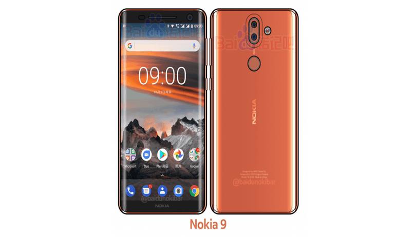 Nokia 9: non vi ricorda il Samsung Galaxy S8?