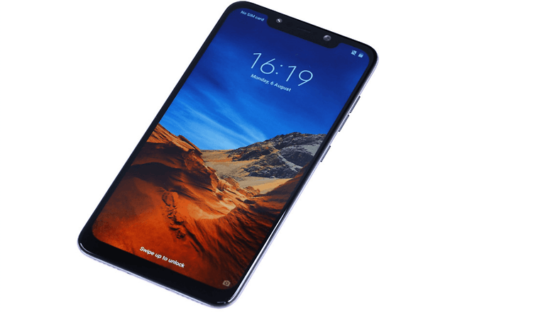 pocophone front