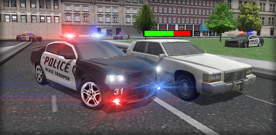 Police Car Chase D Game Download