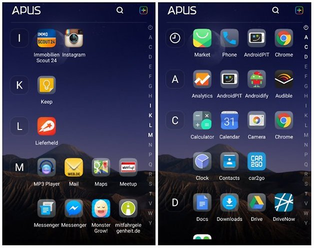 APUS Android Launcher Review