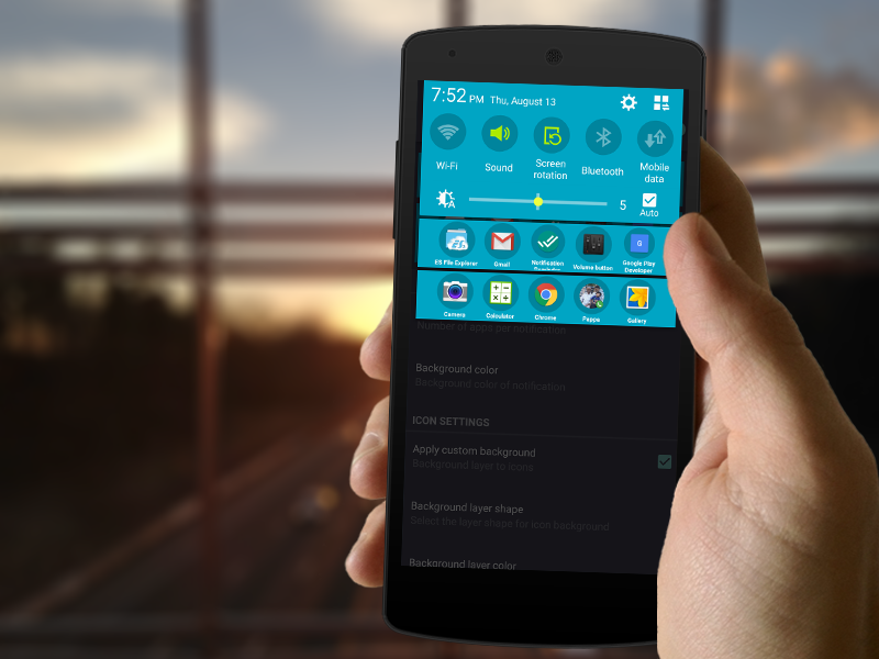 TUFFS Notification Shortcuts is a new app that lets you add custom
