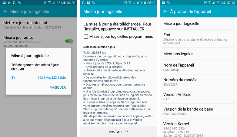 android 5 1 1 lollipop galaxy s6 sm 920f images 01