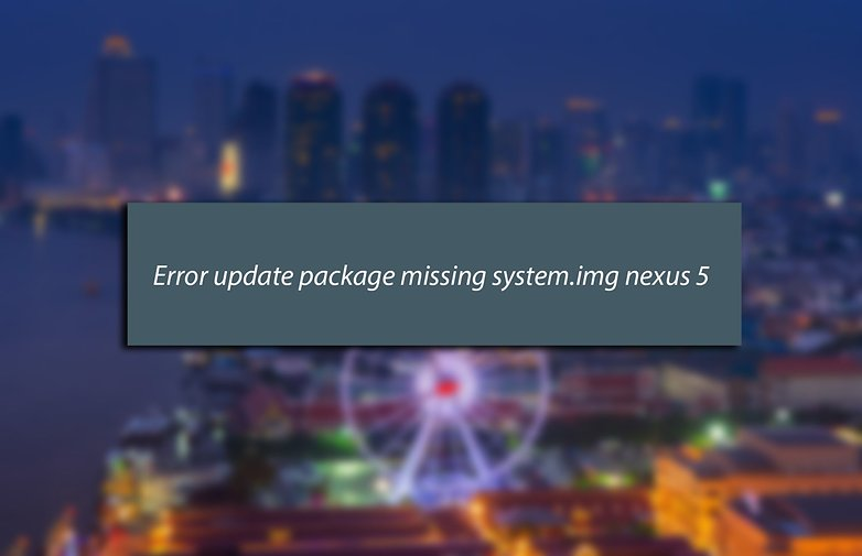 android lollipop problemes solutions missing system img image 01